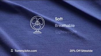 Tommy John Spring Sale TV Spot, '20% Off Sitewide' - Thumbnail 4