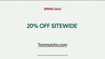 Tommy John Spring Sale TV Spot, '20% Off Sitewide' - Thumbnail 9
