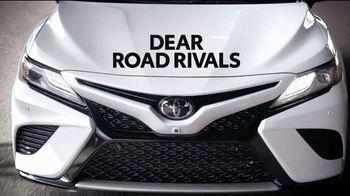 Toyota Camry TV Spot, 'Dear Road Rivals: Camry' [T1] - Thumbnail 1