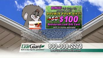 LeafGuard of Seattle Spring Blowout Sale TV Spot, 'Don't Risk a Fall' - Thumbnail 9