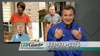 LeafGuard of Seattle Spring Blowout Sale TV Spot, 'Don't Risk a Fall' - Thumbnail 1