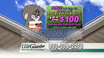LeafGuard of Seattle Spring Blowout Sale TV Spot, 'Don't Risk a Fall' - Thumbnail 4