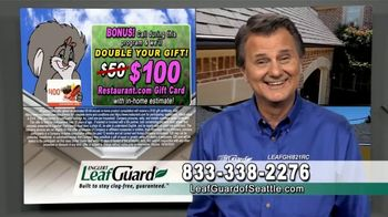 LeafGuard of Seattle Spring Blowout Sale TV Spot, 'Don't Risk a Fall' - Thumbnail 5