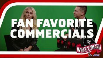 Snickers TV Spot, 'WWE Fan Favorite Commercials: Woo' Featuring Charlotte Flair, Gregory Mizanin