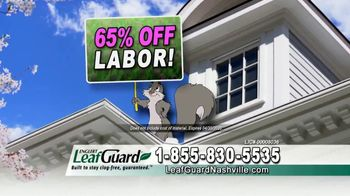 LeafGuard of Nashville Spring Blowout Sale TV Spot, 'Weight of Muck' - Thumbnail 6