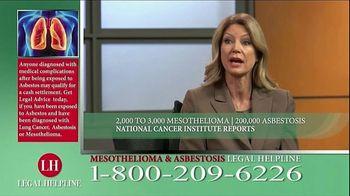 Fears Nachawati TV Spot, 'Mesothelioma Legal Helpline' - Thumbnail 4