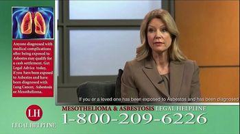 Fears Nachawati TV Spot, 'Mesothelioma Legal Helpline' - Thumbnail 5