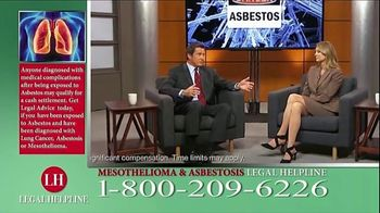 Fears Nachawati TV Spot, 'Mesothelioma Legal Helpline' - Thumbnail 7