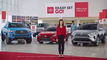 Toyota Ready Set Go! TV Spot, 'Imagine Yourself' [T2] - 1 commercial airings