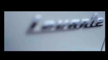 Maserati Levante TV Spot, 'Raise Your Expectations' [T1] - Thumbnail 2