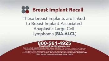 Sokolove Law TV Spot, 'Breast Implant Recall' - Thumbnail 2