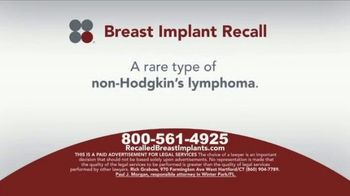 Sokolove Law TV Spot, 'Breast Implant Recall' - Thumbnail 3