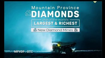 Mountain Province Diamonds TV Spot, 'Globally Significant Scale' - Thumbnail 2