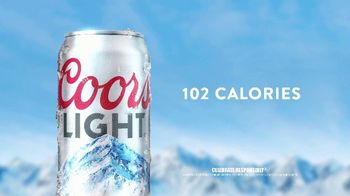 Coors Light TV Spot, 'Tap Into Mountain Cold Refreshment' Song by Berry Lipman Singers - Thumbnail 8