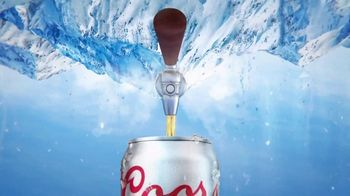 Coors Light TV Spot, 'Tap Into Mountain Cold Refreshment' Song by Berry Lipman Singers - Thumbnail 5
