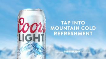 Coors Light TV Spot, 'Tap Into Mountain Cold Refreshment' Song by Berry Lipman Singers - Thumbnail 7