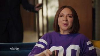 Sling TV Spot, 'Ankle Bracelet: Limited Time Offer' Featuring Maya Rudolph - Thumbnail 2