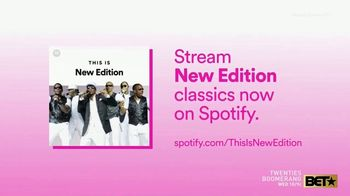 Spotify TV Spot, 'Candy Girl' Song by New Edition
