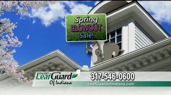 LeafGuard of Indiana Spring Blowout Sale TV Spot, 'Water Damage' - Thumbnail 6