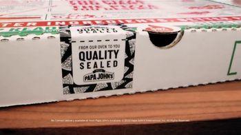 Papa John's TV Spot, 'Quality Sealed' - Thumbnail 3