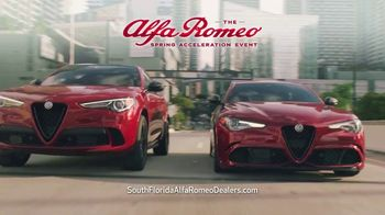 Alfa Romeo Spring Acceleration Event TV Spot, \'Accelerate All Your Senses\' [T2]