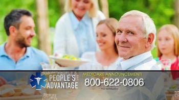 People's Advantage TV Spot, 'Important Benefits: Medicare' - Thumbnail 1