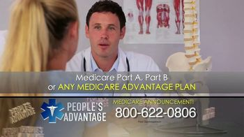 People's Advantage TV Spot, 'Important Benefits: Medicare'