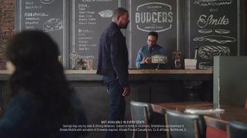 Allstate TV Spot, 'Burger Joint' Featuring Dennis Haysbert - Thumbnail 8