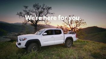 Toyota TV Spot, 'We Are Here For You' [T1] - Thumbnail 10