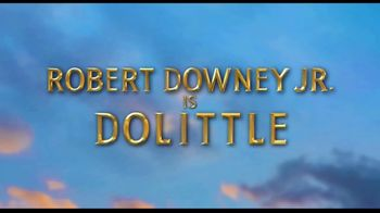 Dolittle Home Entertainment TV Spot
