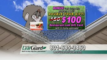 LeafGuard of Utah Spring Blowout Sale TV Spot, 'Weight of Muck' - Thumbnail 9
