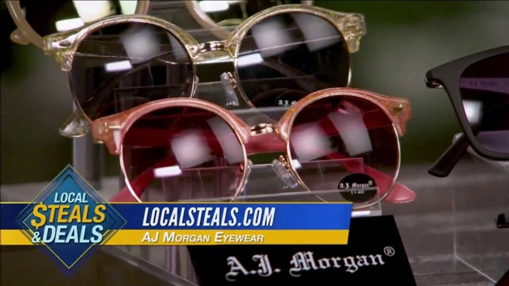Local Steals & Deals TV Commercial, 'Alchemy Accessories, AJ Morgan Eyewear and Athleisure' Featurin