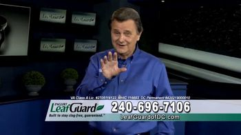 LeafGuard of DC Spring Blowout Sale TV Spot, 'Ladder'