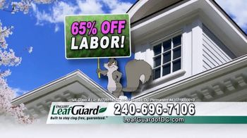 LeafGuard of DC Spring Blowout Sale TV Spot, 'Ladder' - Thumbnail 4
