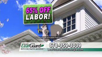 LeafGuard of North Georgia Spring Blowout Sale TV Spot, 'Nesting Ground' - Thumbnail 7