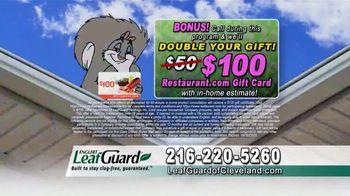 LeafGuard of Cleveland Spring Blowout Sale TV Spot, 'Rose' - Thumbnail 9