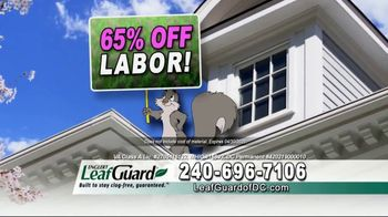 LeafGuard of DC Spring Blowout Sale TV Spot, 'Where We Come In' - Thumbnail 5