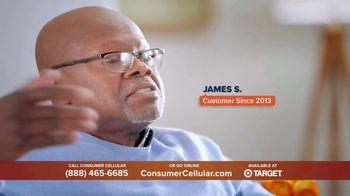 Consumer Cellular TV Spot, 'Super Real: Plans $20+ a Month' - Thumbnail 2
