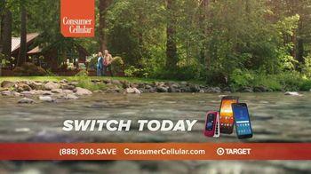 Consumer Cellular TV Spot, 'Cabin: Plans $20+ a Month' - Thumbnail 10