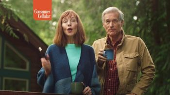 Consumer Cellular TV Spot, 'Cabin: Plans $20+ a Month' - Thumbnail 4