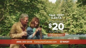 Consumer Cellular TV Spot, 'Cabin: Plans $20+ a Month' - Thumbnail 6