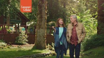 Consumer Cellular TV Spot, 'Cabin: Plans $20+ a Month' - Thumbnail 9