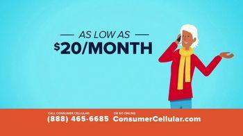 Consumer Cellular TV Spot, 'A Little Fishing: Plans $20 a Month'