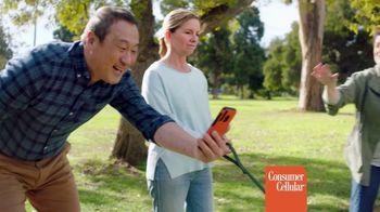 Consumer Cellular TV Spot, 'Dog Park: Talk, Text, Data $20+ a Month'