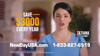 NewDay USA VA Streamline Refi TV Spot, 'Save $3,000'