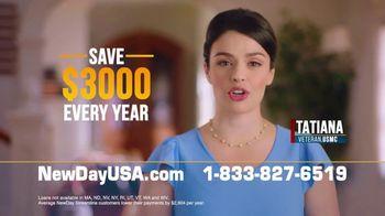 NewDay USA VA Streamline Refi TV Spot, 'Save $3,000'
