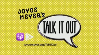 Joyce Meyer Ministries Talk It Out Podcast TV Spot, 'Relatable' - Thumbnail 5