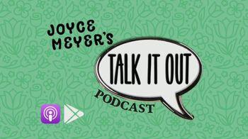Joyce Meyer Ministries Talk It Out Podcast TV Spot, 'Relatable' - Thumbnail 1