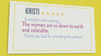 Joyce Meyer Ministries Talk It Out Podcast TV Spot, 'Relatable' - Thumbnail 2