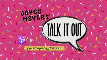 Joyce Meyer Ministries Talk It Out Podcast TV Spot, 'Relatable' - Thumbnail 4